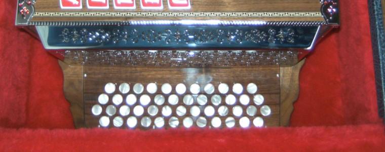 Der Aufbau der Steirischen Harmonika